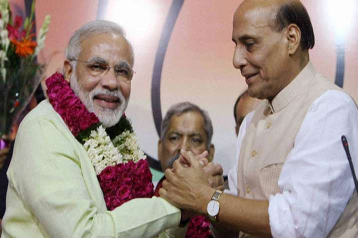 BJP will win more seats in 2019 Lok Sabha elections as compared to 2014 says Rajnath Singh- India TV