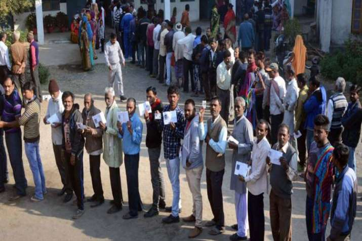 Election Commission orders re-polling at booth no 337 in Azamgarh's Mubarakpur- India TV
