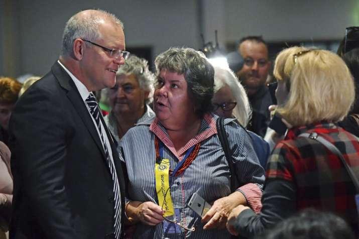 Australia PM Scott Morrison egged at election function in Albury | AP- India TV