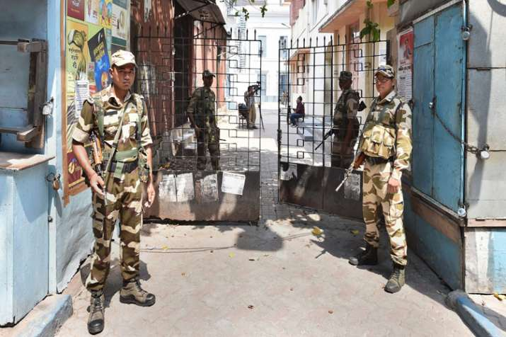 EC orders 200 companies of Central forces to hang in West Bengal- India TV