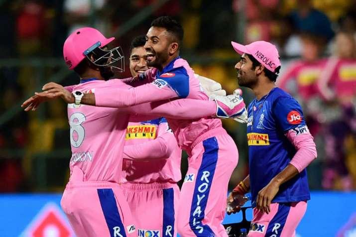 Carlos Brathwaite Hails Shreyas Gopal Hat-trick Against Royal Challengers Bangalore in IPL 2019 49th- India TV