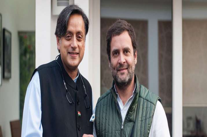 Rahul best person to lead party, too premature to write Congress' obituary: Shashi Tharoor- India TV