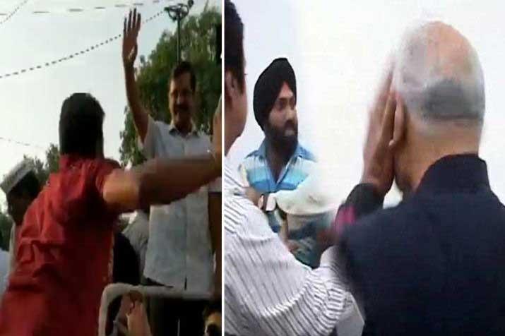 slap scandals- India TV