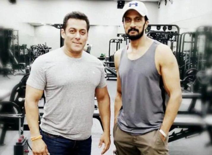 Salman khan and sudeep- India TV