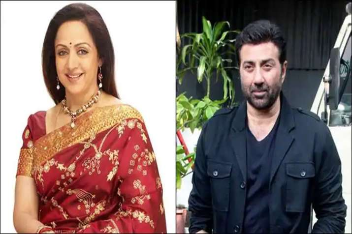 Sunny Deol and Hema Malini - India TV