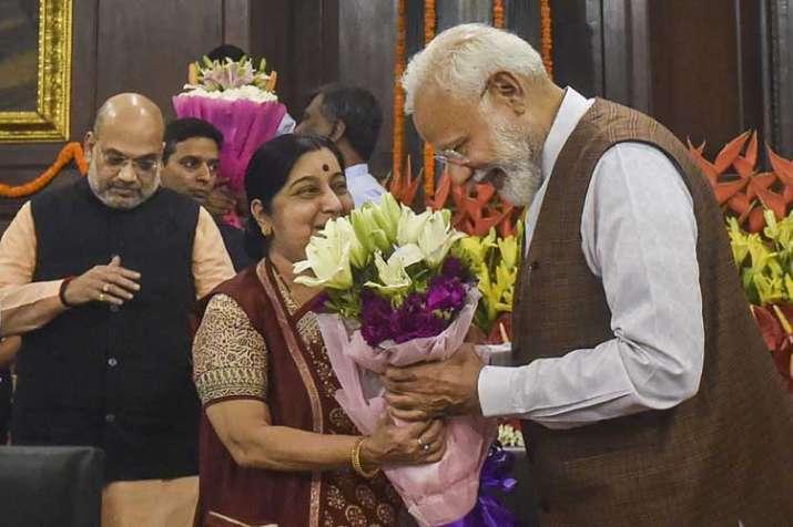 sushma swaraj and pm modi- India TV