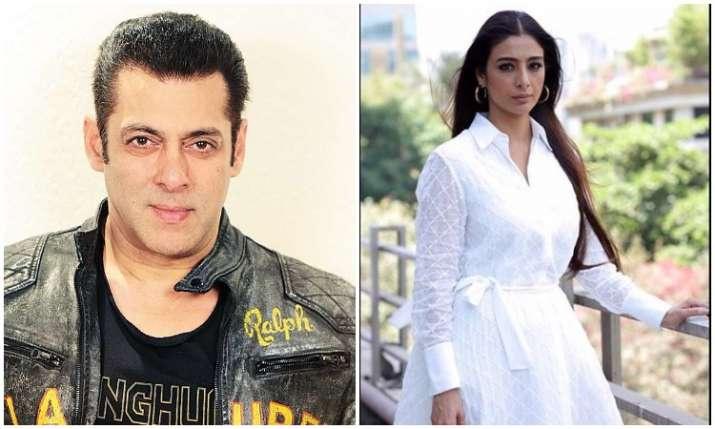 Salman khan and tabu- India TV