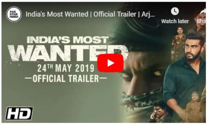 India's most wanted trailer- India TV
