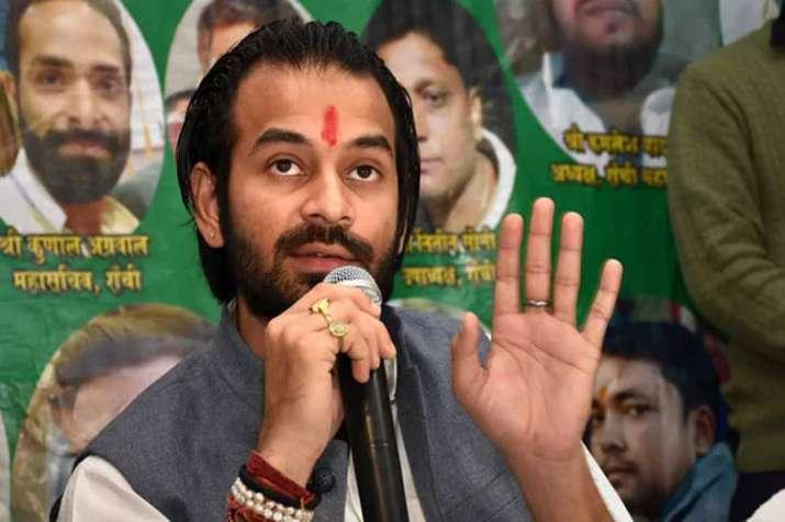 Those who don't like Tejashwi's leadership can leave, be it mahagathbandhan or RJD says Tej Pratap Y- India TV
