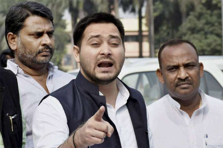 Exit poll results are wrong, opposition is winning, says Tejashwi Yadav | PTI File- India TV