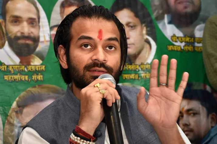 तेजस्वी पर तेजप्रताप का सबसे बड़ा हमला, खुद को बताया बिहार का दूसरा लालू प्रसाद यादव- India TV