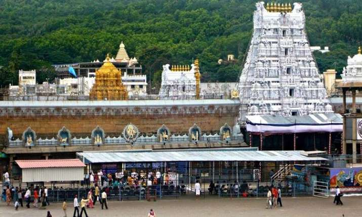 Tirupati temple sits on over 9,000 kg gold reserves- India TV Paisa