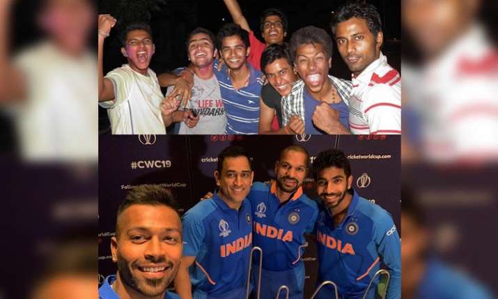 Hardik pandya childhood photo to celebreate team india victory of world cup 2011 - India TV