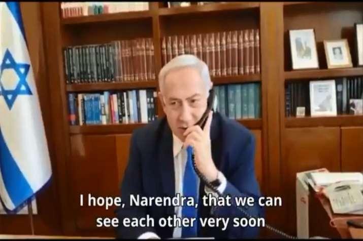 Israel's Prime Minister Benjamin Netanyahu- India TV