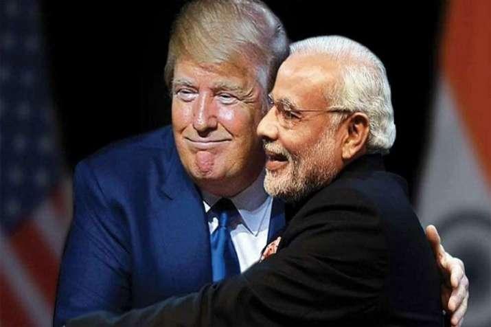 Trump Modi- India TV