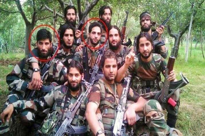 Jammu Kashmir Burhan Wani- India TV