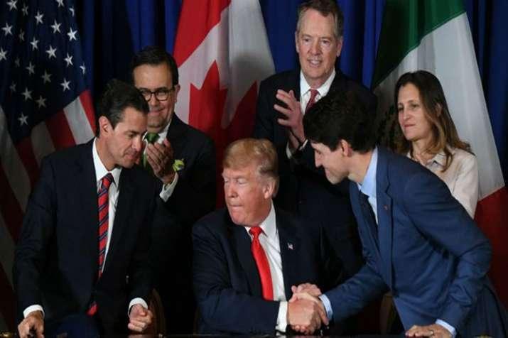 Trade Agreement USA, Mexico, Canada- India TV