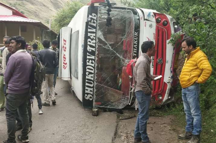 Himachal Pradesh Bus Accident - India TV