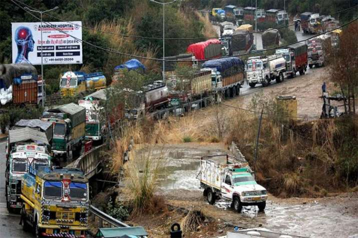 Jammu Srinagar Highway- India TV