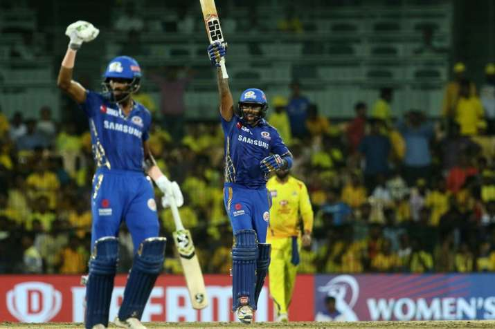 IPL 2019, MI vs CSK: Mumbai Indians Beat Chennai Super Kings by 6 Wickets in Qualifiers 1- India TV