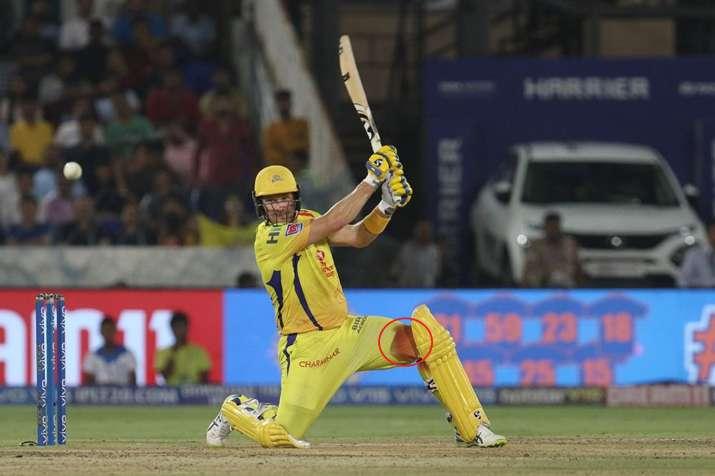 खून से लथपथ घुटने के बावजूद चेन्नई को खिताबी जीत दिलाने में लगे रहे शेन वॉट्सन, अब लगे 6 टांके- India TV
