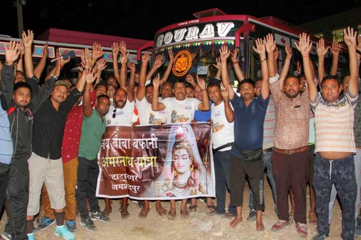 Amarnath yatra begins amidst multi-tier security grid- India TV
