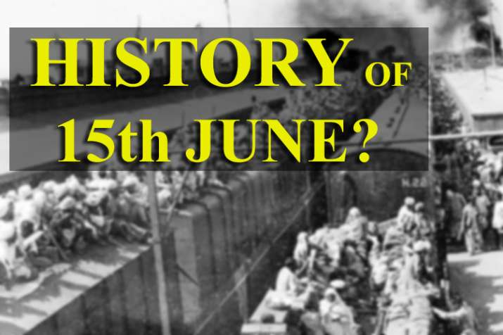 History of 15th June- India TV