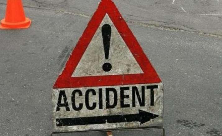 road accident- India TV