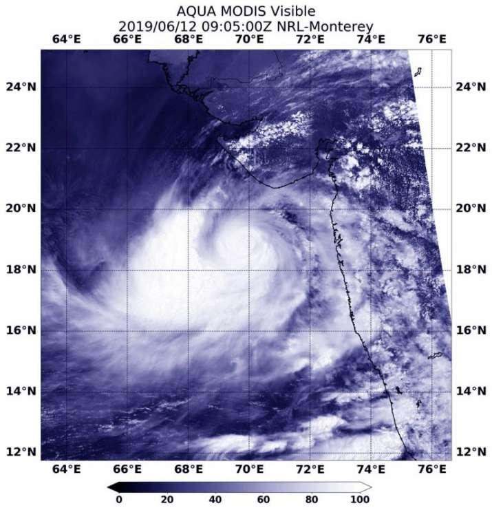 Cyclone Vayu Path- India TV