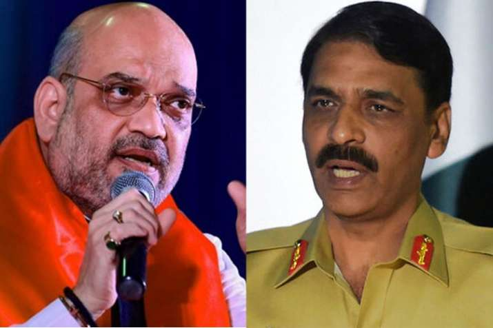 Well played, but don't compare 'strikes and match', says Asif Ghafoor to Amit Shah | PTI/AP File- India TV