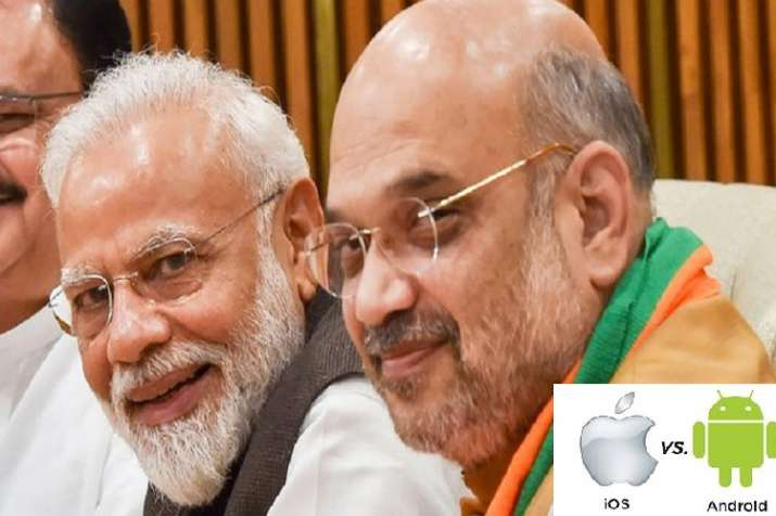 iPhone vs Android: Amit Shah prefers iPhone XS to connect with team- India TV Paisa