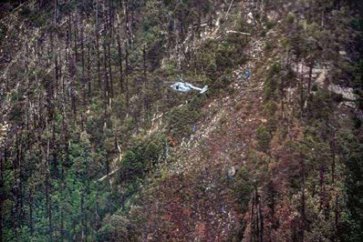 Rescue team members retrieved from AN-32 aircraft crash...- India TV