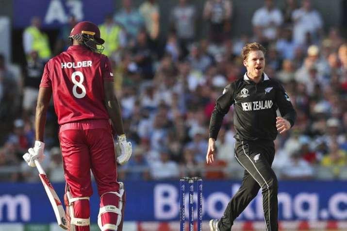 वेस्टइंडीज बनाम न्यूजीलैंड विश्व कप 2019 मैच 29 Highlights: कार्लोस ब्रैथवेट (101) की शतकीय पारी बेक- India TV