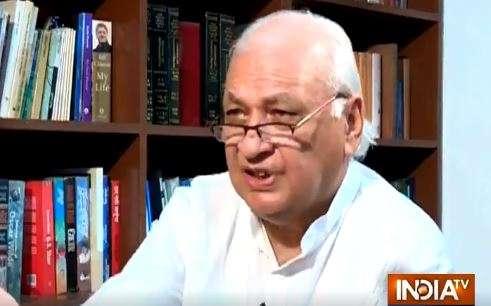 Arif Mohammad Khan- India TV