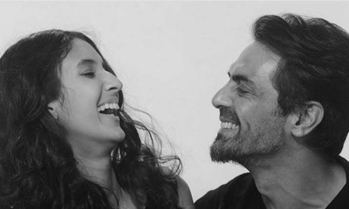 Arjun Rampal with daughter Myra Rampal- India TV