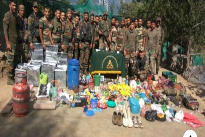 Militant hideout busted in J-K's Kishtwar- India TV