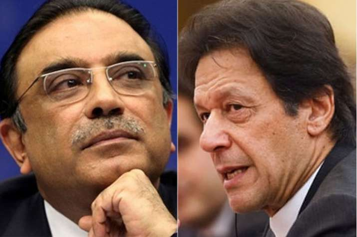Remove Imran Khan to save nation, says Asif Ali Zardari | AP File- India TV