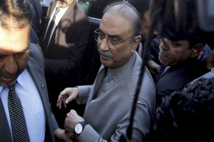 Asif Ali Zardari arrested as IHC rejects bail application- India TV