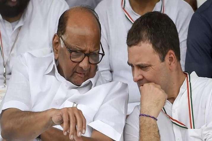 Rahul Gandhi and Sharad Pawar- India TV