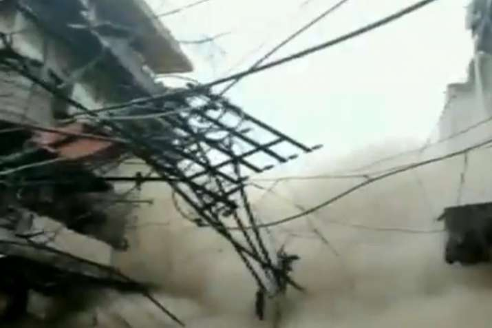 building collapse- India TV