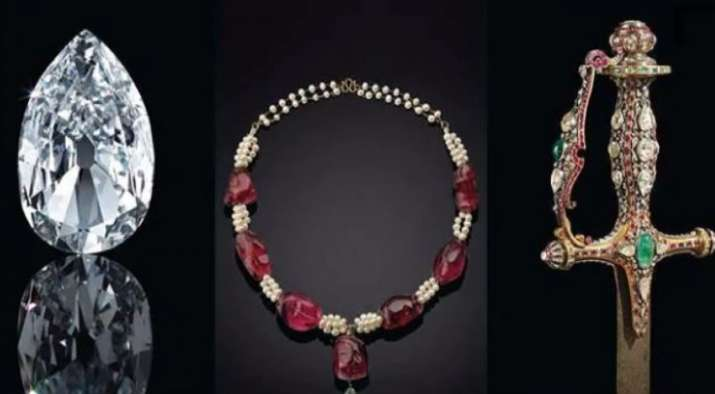 christies auction maharajas mughal magnificence arcot 2 of golconda and other indian diamond sold- India TV Paisa