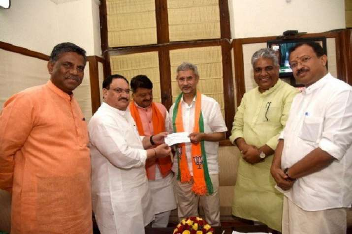 S Jaishankar formally joins BJP- India TV