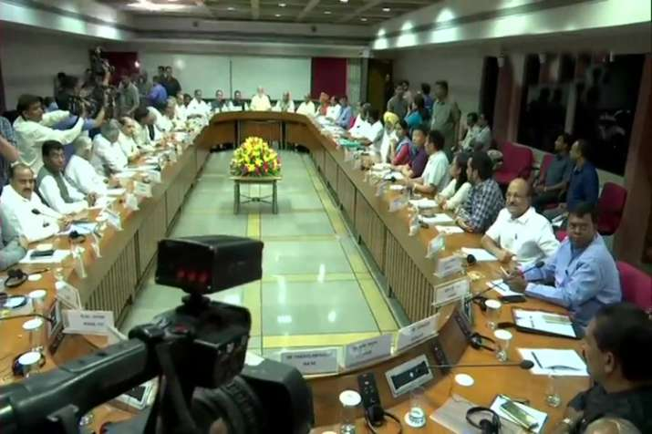 Pm Narendra Modi government holds all party meet before...- India TV