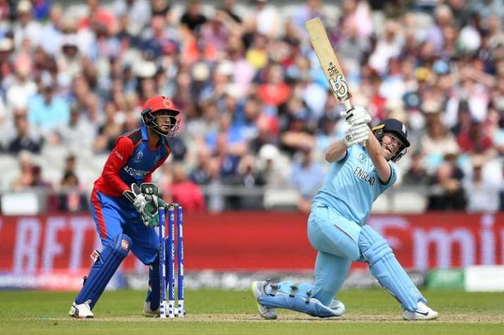 Morgan smashes 17 sixes, breaks ODI record- India TV