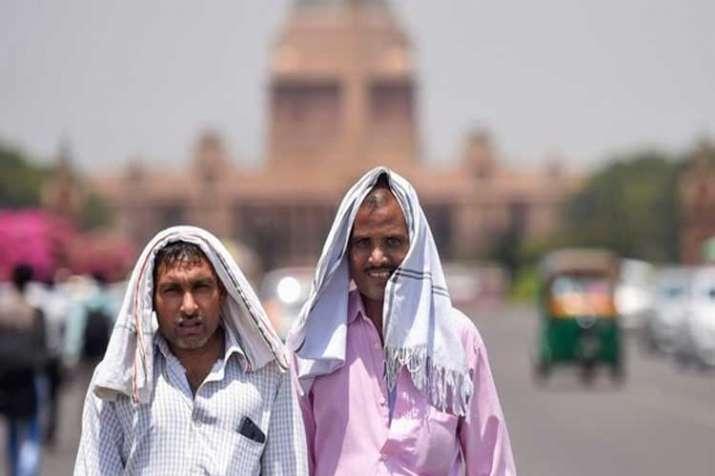 hot summer day in new delhi- India TV