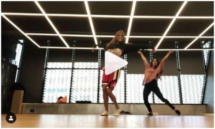 Disha patani dance video- India TV