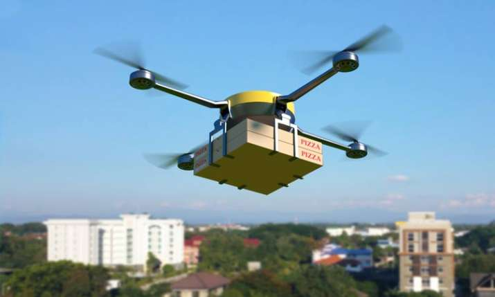 Zomato drone tests food packet delivery at 80kmph- India TV Paisa