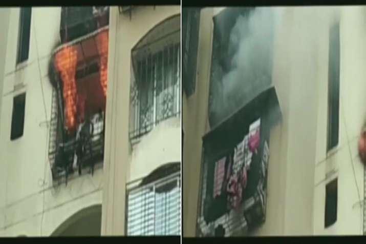 Fire breaks out at Minar Tower in Jogeshwari, Mumbai- India TV