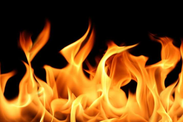 fire in noida authority office required documents Burn - India TV