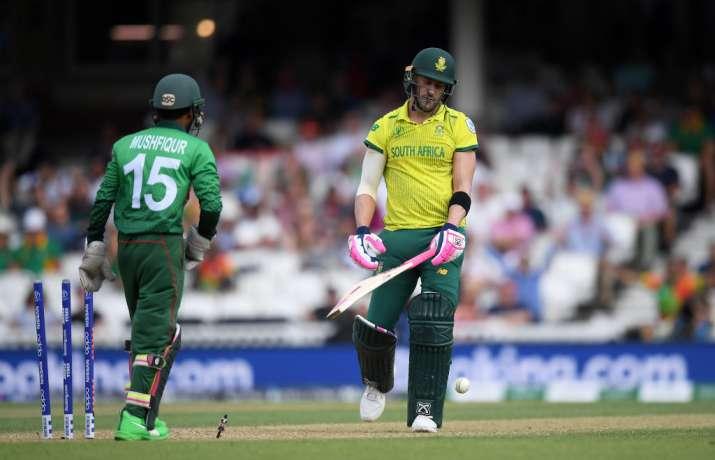 World Cup 2019 दक्षिण अफ्रीका बनाम बांग्लादेश मैच 5: बांग्लादेश का ऑलराउंड प्रदर्शन, दक्षिण अफ्रीका - India TV